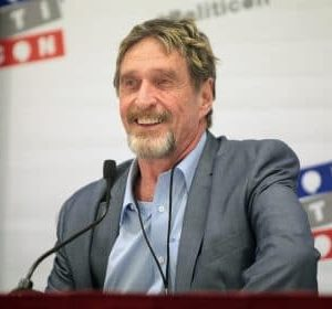 John McAfee Found Dead Hours after Spanish Court Approved His Extradition to US