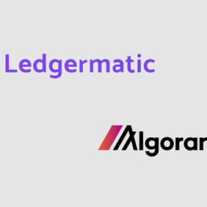 Ledgermatic treasury and custody solution now live for the Algorand network