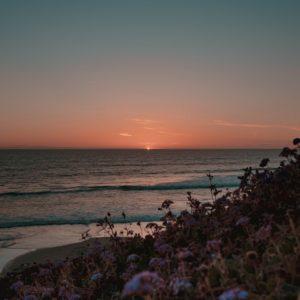 Solana beach in California