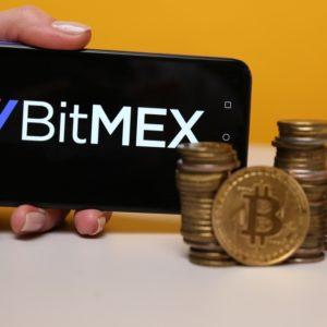 BitMex on the phone display
