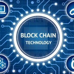 Picture depicting the interconnectedness of blockchain technology, as survey shows blockchain technology is becoming mainstream