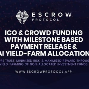 Escrow Brings New Era of Decentralized Crowdfunding with High Yield Rewards