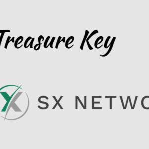 Gaming dApp TreasureKey integrating with SX Network blockchain