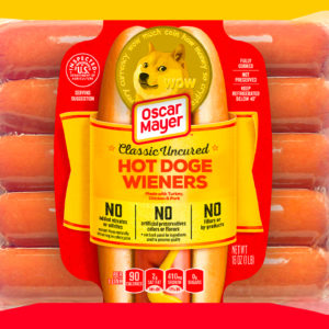 Oscar Mayer Is Auctioning a 10-Pack of Dogecoin-Themed Hot Dogs, Proceeds Go to Hunger-Relief Charity