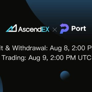 Port Finance to List on AscendEX
