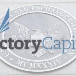 Victory capital logo and US SEC logo