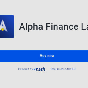 Alpha integrates fiat-crypto gateway from Nash to enable EU users to purchase crypto