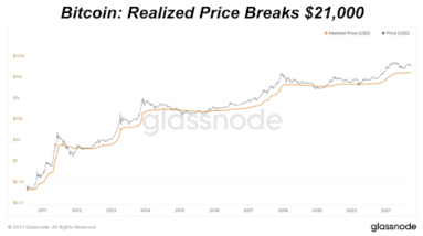 Looking at the metrics that help us determine bitcoin price bottoms.