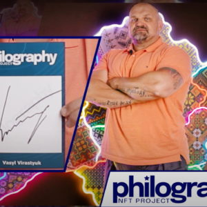 Vasyl Virastyuk, the Strongest Man on the Planet Has Tokenized Autograph With Philography Project