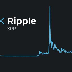 Ripple's XRP Price Chart Screen Shot, and XRP Logo