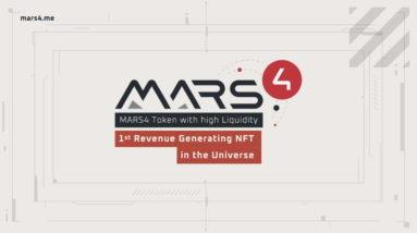 Mars4: Highly Liquid MARS4 Dollars and Revenue Generating Mars Terrain NFTs