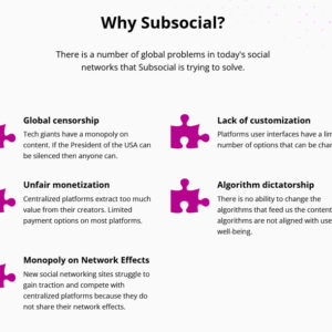 Why Subsocial