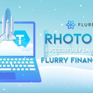 rhoToken Successfully Launched on Flurry Finance DApp